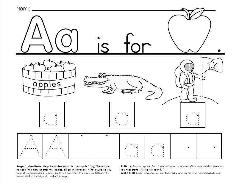 These worksheets pages allow your child to trace and color the Upper case and Lower case letters Practise a few without tracing