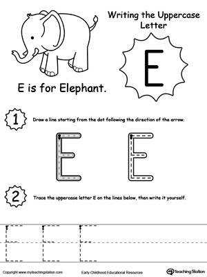 Free Printable letter D tracing worksheets for preschoolee