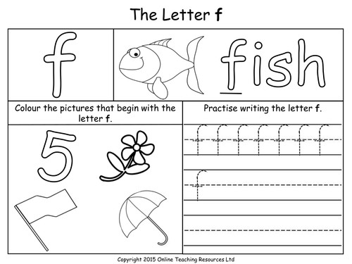 Letters of the Alphabet Teaching Pack 24 PowerPoint presentations and 26 worksheets by Teacher of Primary Teaching Resources Tes