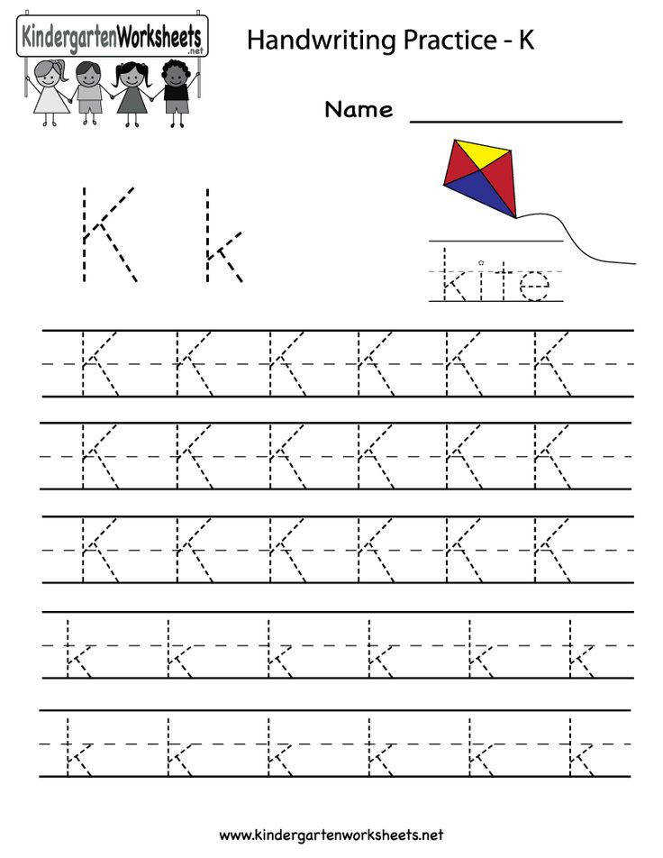 Best Ideas of Letter K Writing Worksheets Also Cover