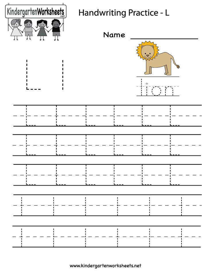 1000 images about letter l worksheets on pinterest handwriting coloring page