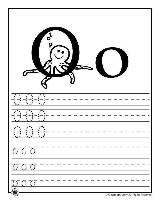 Learning ABC s Worksheets Learn Letter O – Classroom Jr