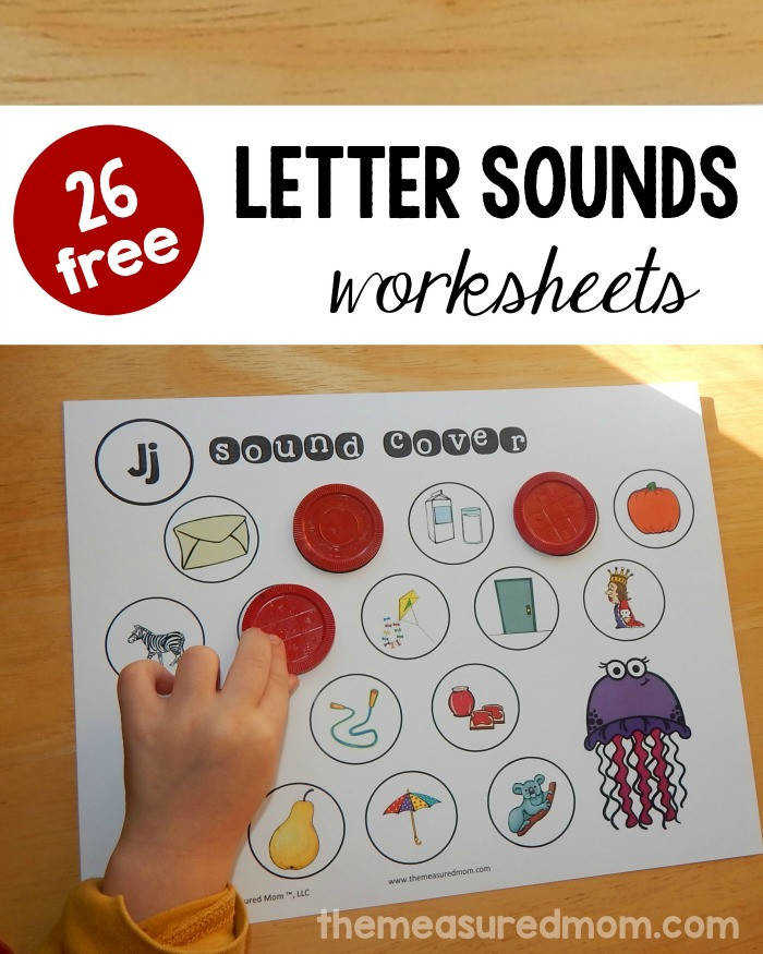 letter sounds worksheets