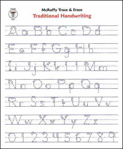 Printable Alphabet Writing Practice Worksheets