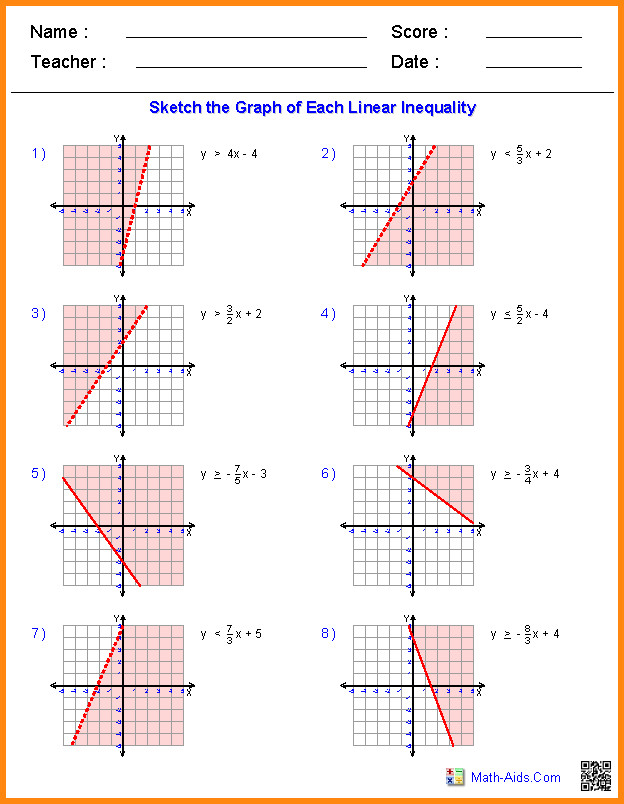 linear functions worksheet graphing quadratic large 6 linear functions worksheet