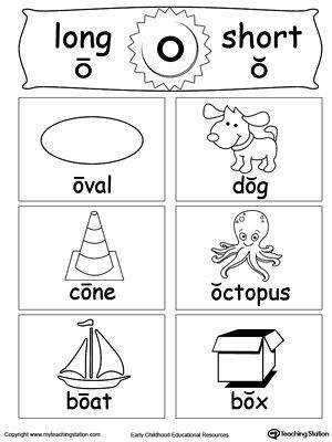 FREE Short and Long Vowel Flashcards O Worksheet Help your