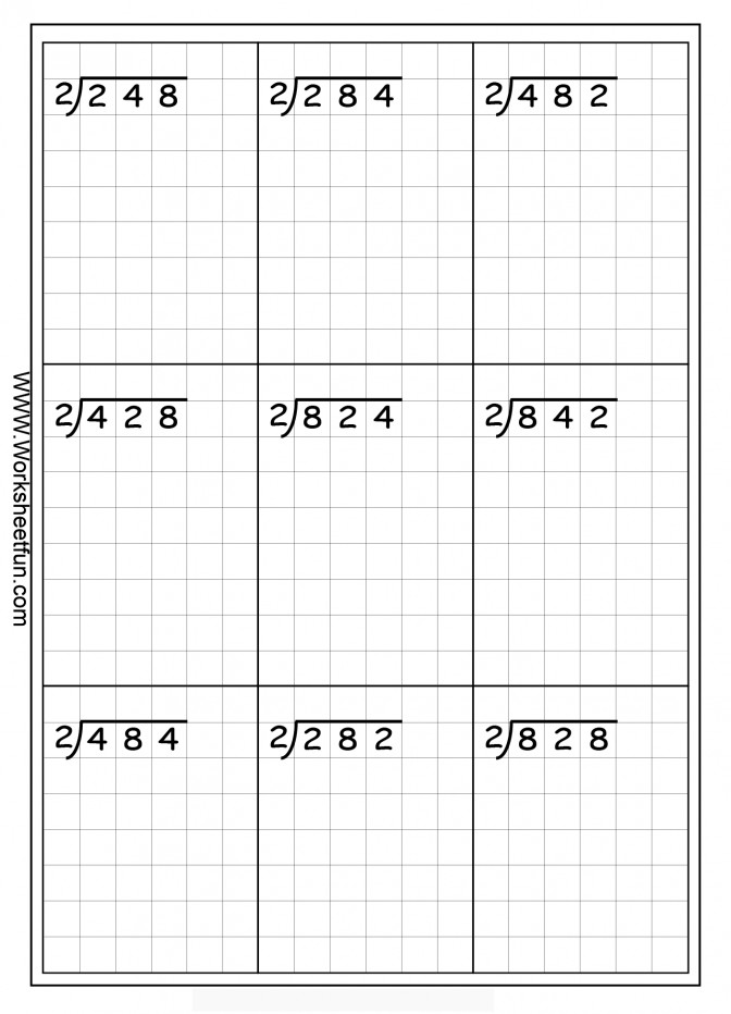 Fun Long Division Worksheets Also 1 By 3 Ks2 With An Long Division Worksheets With Answers