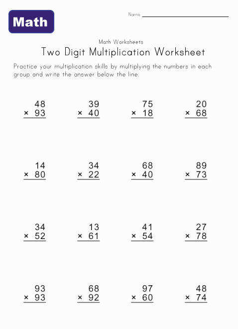 Browse and Read Double Digit Multiplication Worksheets Grade 4 Double Digit Multiplication Worksheets Grade 4 ly for you today