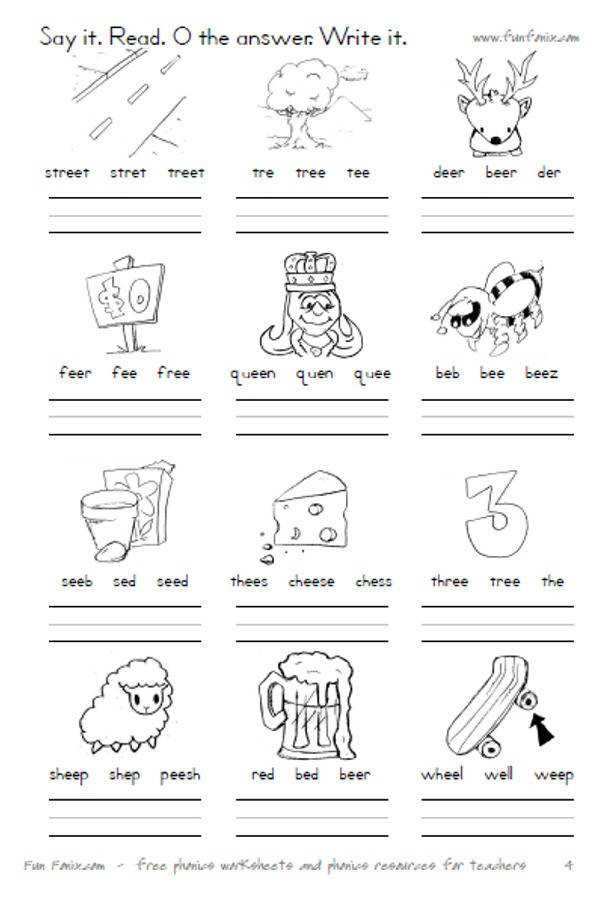 Vowel diphthong worksheets and digraph worksheets printable worksheets for long vowel binations ee ea ai oo and oa