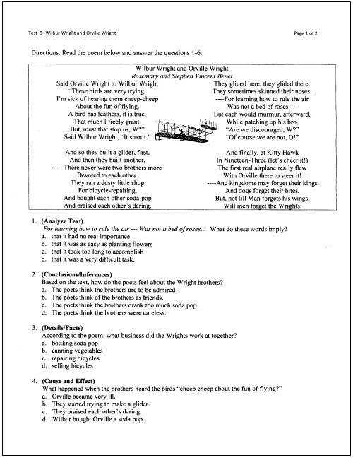 Middle School Main Idea Worksheet About Ben Franklin