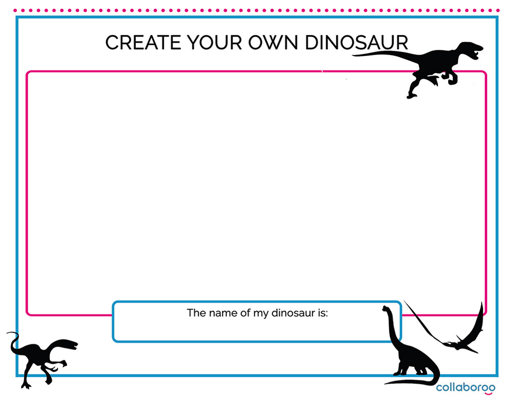 Resources Make Your Own Dinosaur image