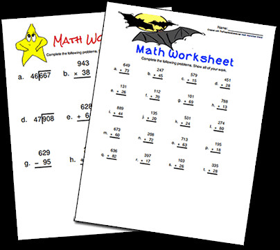 Basic Math Worksheets