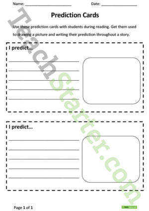 3 Free Esl Making Predictions Worksheets