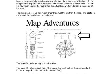 map scale practice worksheets