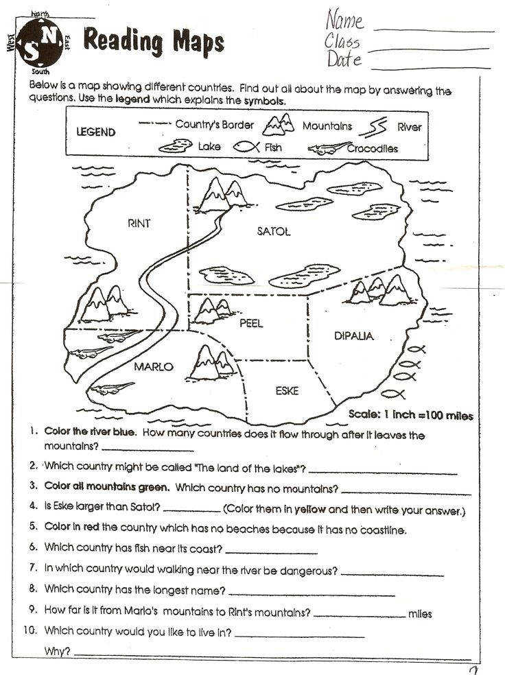 Best Solutions of 7th Grade Map Skills Worksheets For Your Format