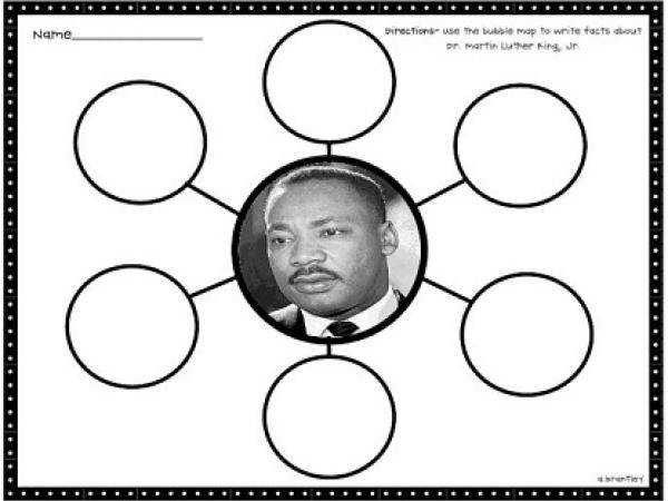 Martin Luther King Jr 3 Day lesson Activity