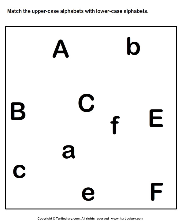 Match Upper Case and Lower Case Letters