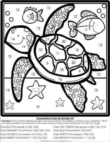 Ideas Collection Color By Number Addition Worksheets 2nd Grade In