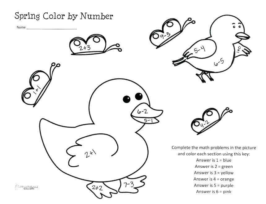 color by number first grade pics coloring first grade math color number worksheets in color number color by number