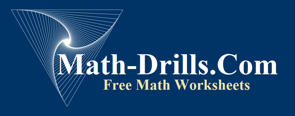High quality math worksheets on a variety of K 12 math topics designed with