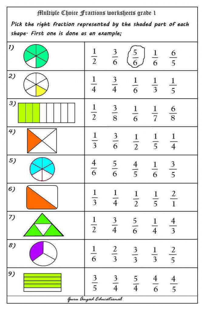 Fractions Worksheets More Bhumika Doshi 2nd Math Fraction 4th Grade C Math Fraction Worksheets Worksheet Medium