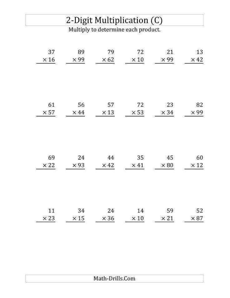 Math Skills Worksheets