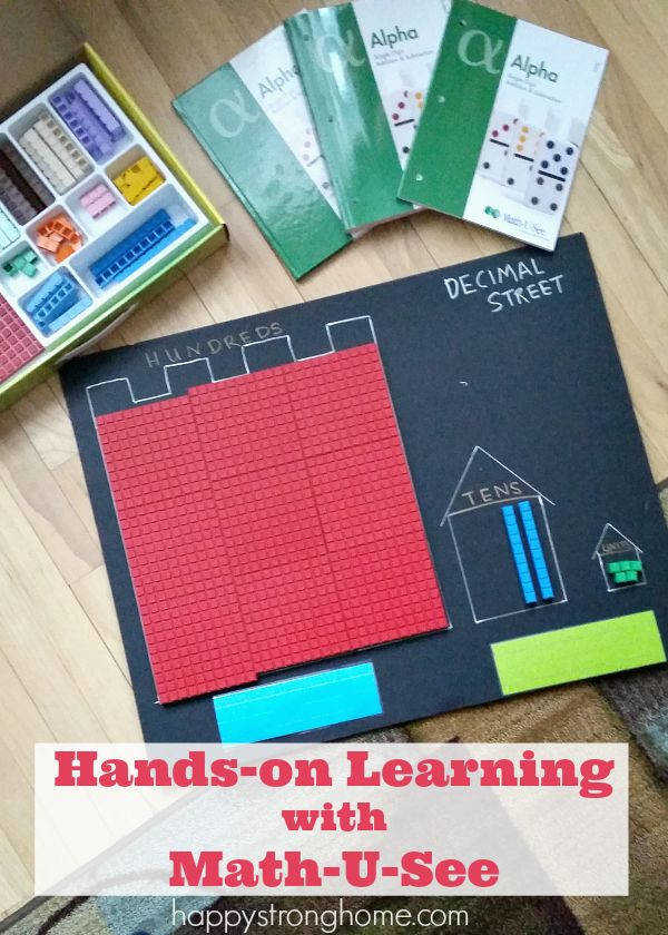 Hands on Learning with Demme Learning s Math U See homeschool math curriculum Get the physical