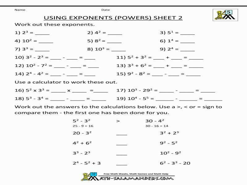 Math Worksheets 5Th Grade plex Calculations