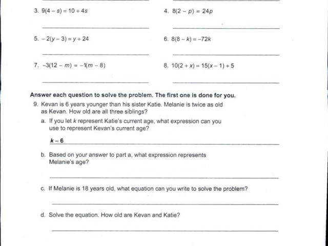 Math Worksheets for Grade 4 with Answers and 6th Grade Mon Core
