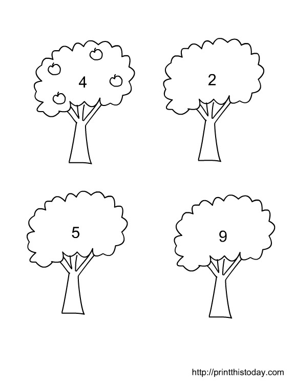 Worksheet Number Worksheets for Kindergarten 1 10