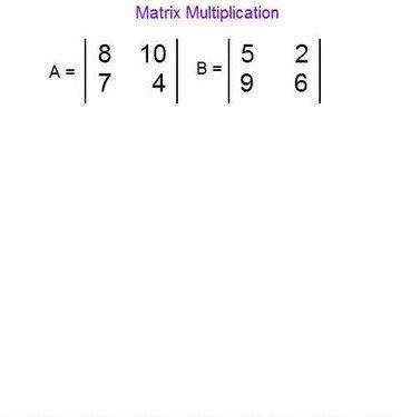 Matrix Multiplication Worksheet Homeschooldressage