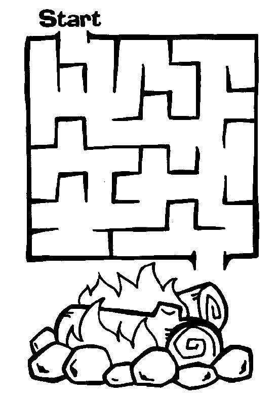 AllKids Network s Free Printable Mazes