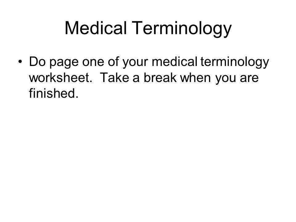 2 Medical Terminology