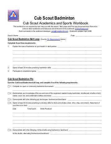 puters Merit Badge Worksheet