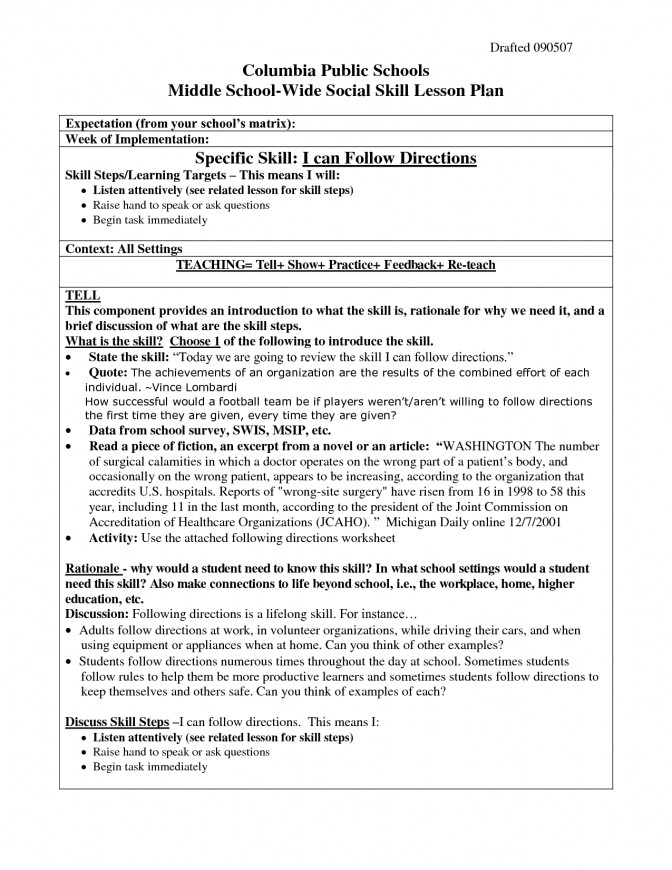 15 Best Following Rules Worksheets Printable School Directions Worksheet 6 Following Directions Lesson Plans