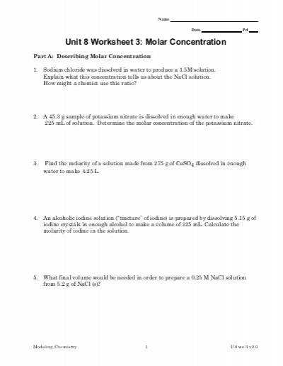 Worksheets Molarity M Worksheet m worksheet sharebrowse molarity sharebrowse