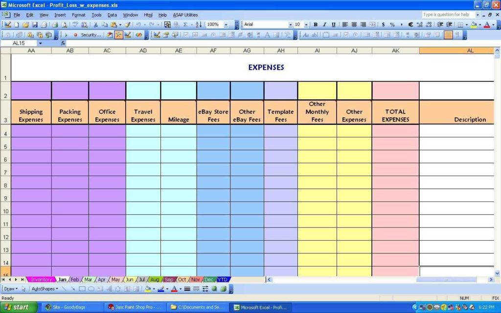 Monthly Bud Worksheet Template Monthly Expense Spreadsheet Template1 Monthly Bud Planner Template Free1 Monthly And Yearly