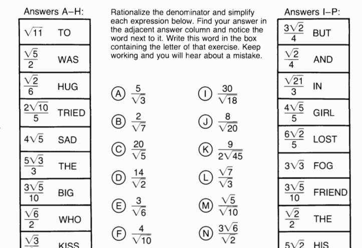 Archive Moving Words Math Worksheet Answers Horizons Math 5 Worksheet