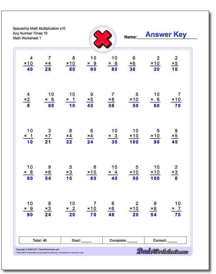 These multiplication worksheets include timed math fact drills fill in multiplication tables multiple