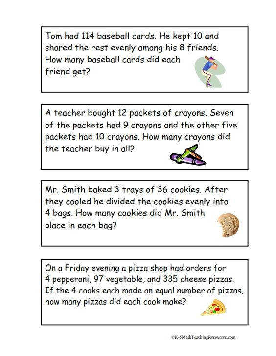 OA 3 Multi Step Word Problems FREE