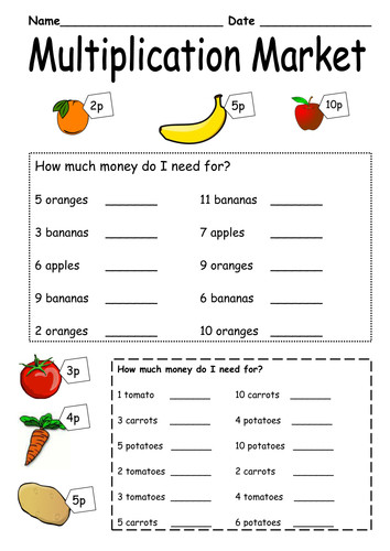 Multiplication word problems with multiplication Word Problem Worksheets