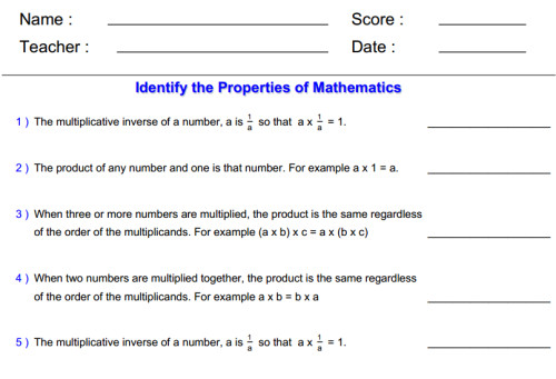 All 3rd Grade line Math Worksheets