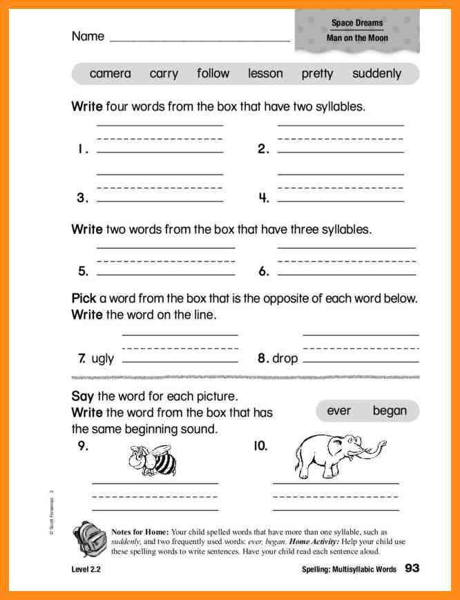 8 multisyllabic words worksheets lvn resume