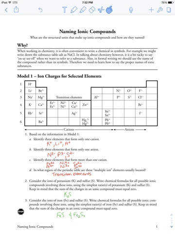 naming ionic compounds worksheet answer key pogil breadandhearth. Black Bedroom Furniture Sets. Home Design Ideas
