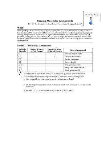 Naming Molecular pounds Worksheet Worksheets Tutsstar Molecular Formula Worksheet
