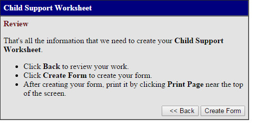 child support worksheet16