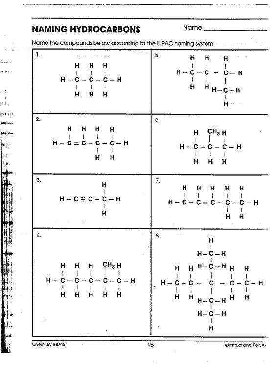 Organic Chemistry Nomenclature Worksheet Week news softwares includes information about naming ethers may be Chemistry Pinterest