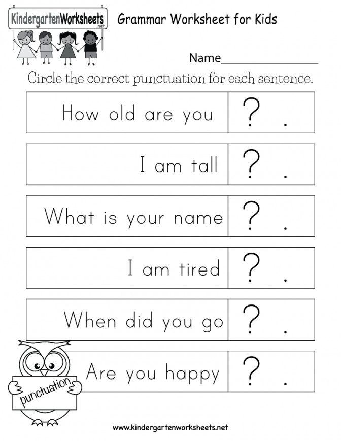 Grammar Worksheet For Kids Free Kindergarten English Easy Noun Worksheets Prin Nouns Worksheets For Kindergarten Worksheet