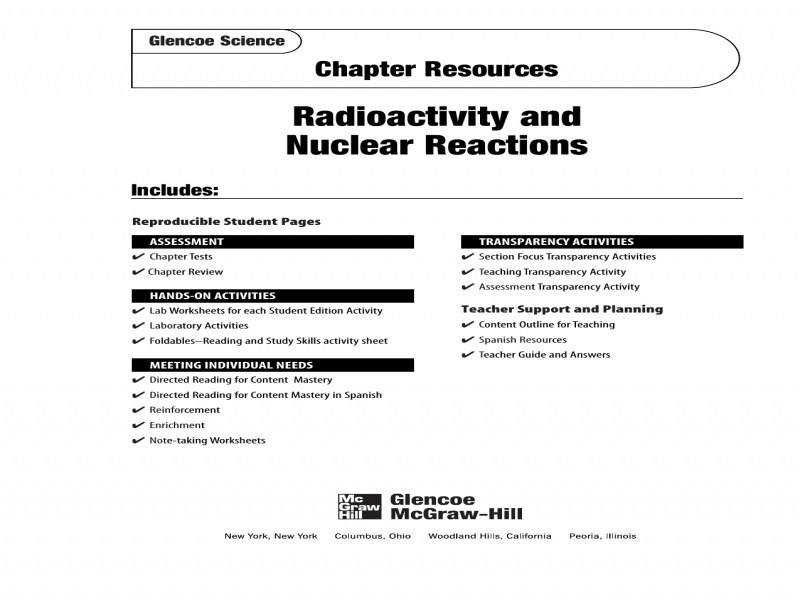 Worksheet Radioactive Decay Worksheet 64 Answers Radioactive Decay