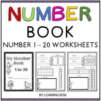 Number Recognition 1 20 Number Sense Worksheets